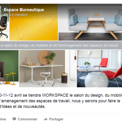 WORKSPACE 10-11-12 avril 2018